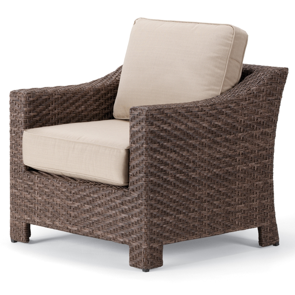 Telescope Casual Lake Shore Wicker Arm Chair - 2L70