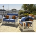 Telescope Casual Leeward Cushion Loveseat and Chair Set