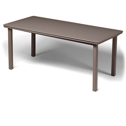 Telescope Casual 42 inch by 84 inch MGP Top Bar Table - T060-38000LG