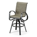 Primera Sling Bar-Height Swivel Arm Chair - 9050