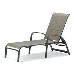 Telescope Casual Primera Sling Chaise with Aluminum Frame