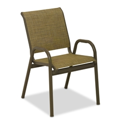Telescope Casual Reliance Contract Sling Stacking Bistro Chair - 8L60