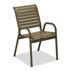 Telescope Casual Reliance Contract Strap Stacking Bistro Chair - 8R60