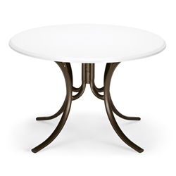 "42"" Round Werzalit Top Dining Table"