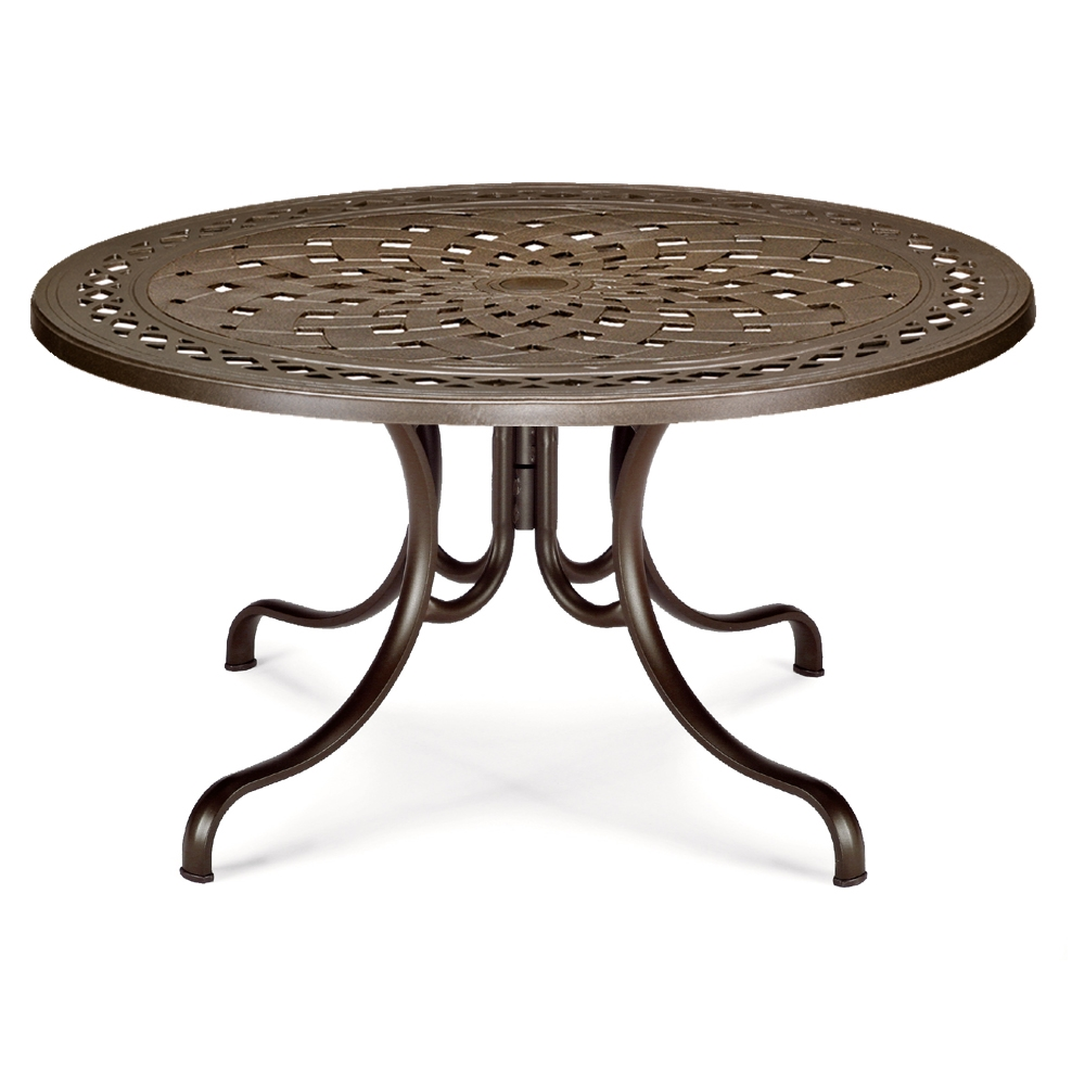 "56"" Round Cast Top Dining Table"