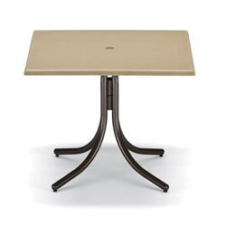 "Telescope Casual 36"" Square Werzalit Dining Table"