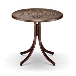 "30"" Round Cast Top Dining Table"