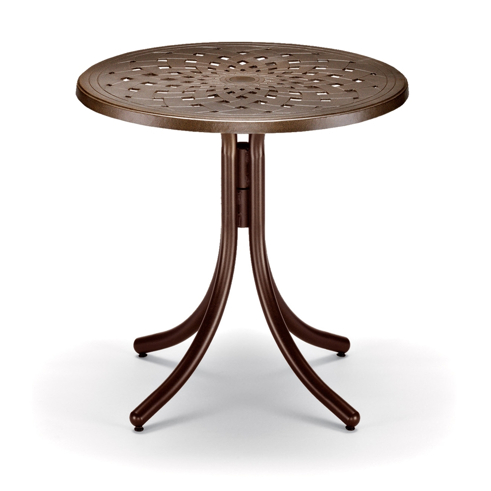"30"" Round Cast Top Counter Table"
