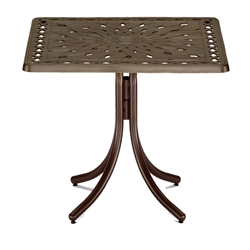 "36"" Square Cast Top Counter Table"