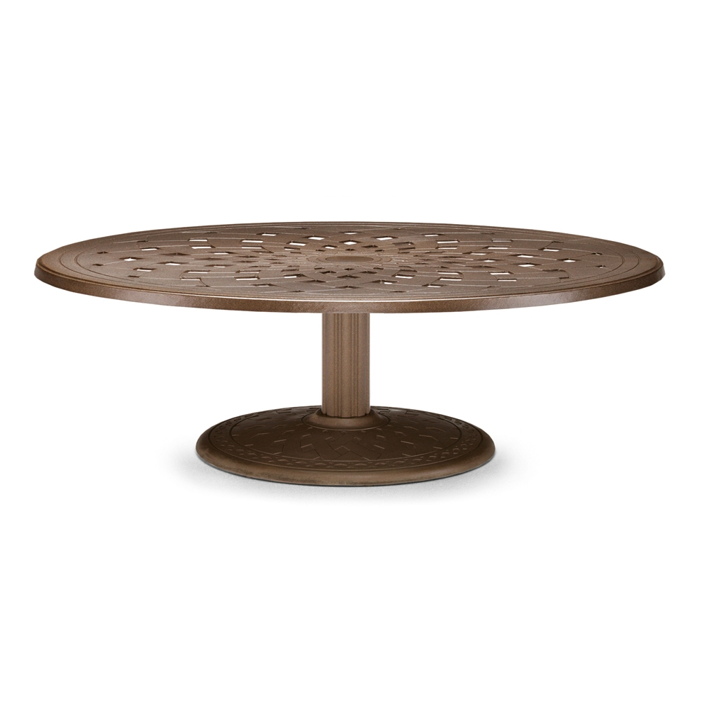 "56"" Round Cast Top Conversation Table"