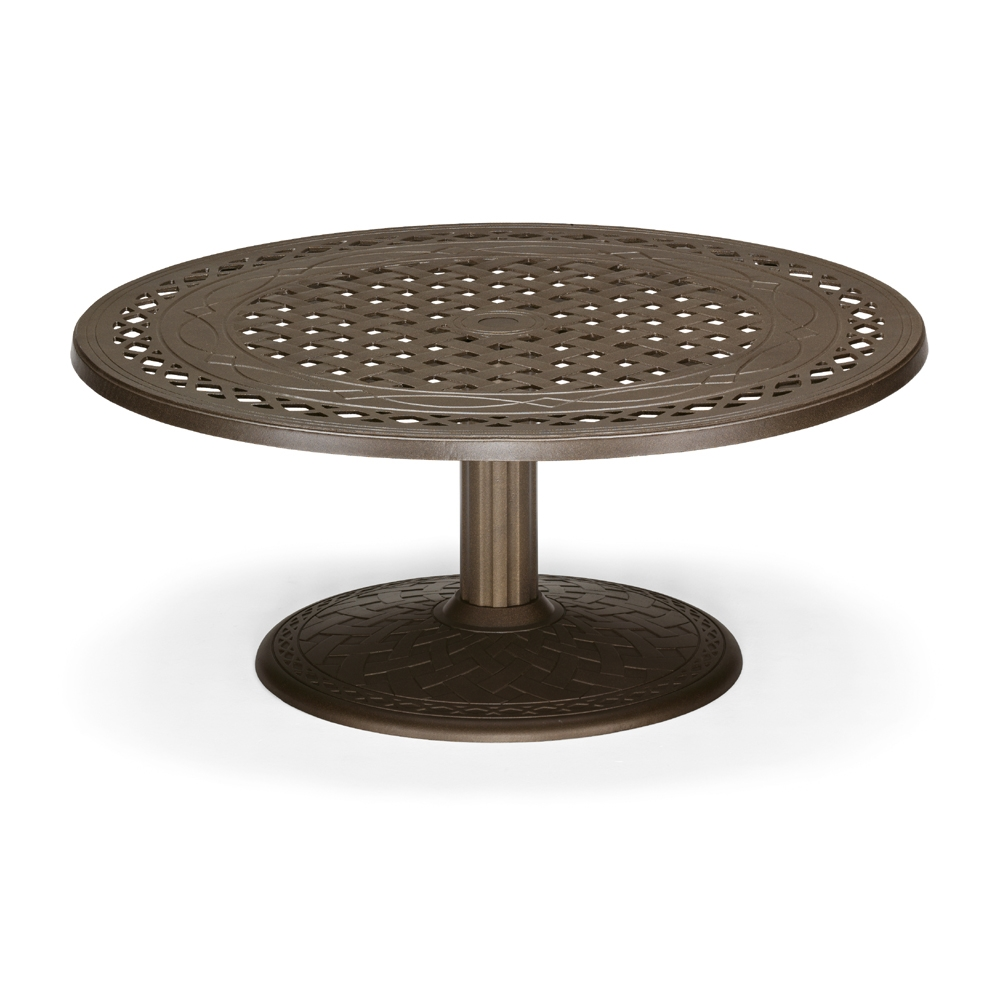 "48"" Round Cast Top Conversation Table"