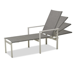 Telescope Casual Tribeca Sling Stacking Chaise - 1T20