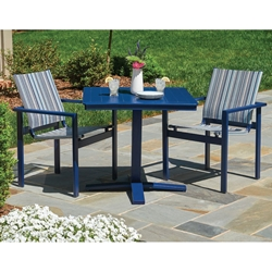 Telescope Casual Tribeca Sling Patio Dining Set - TC-TRIBECA-SET3