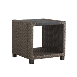 "Tommy Bahama Blue Olive 24"" Square End Table - 3230-953"