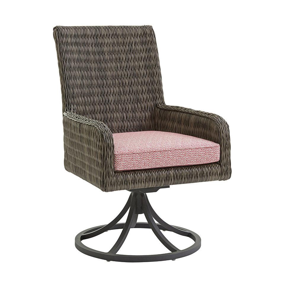 Tommy Bahama Cypress Point Swivel Rocker Dining Chair 3900 13sr
