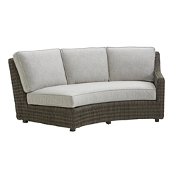 Tommy Bahama Cypress Point RAF Curved Sofa with Boxed Cushions - 3900-82RB
