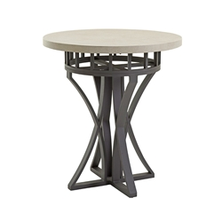 "Tommy Bahama Cypress Point Weatherstone 38"" Round Bar Table - 3900-873B"