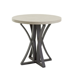 "Tommy Bahama Cypress Point Weatherstone 38"" Round Counter Table - 3900-873C"