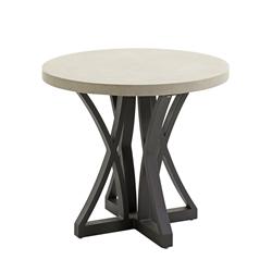 "Tommy Bahama Cypress Point Weatherstone 25"" Round Side Table - 3900-951"