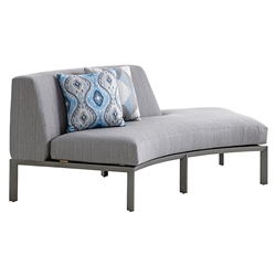 Tommy Bahama Del Mar RSF Curved Sectional Love Seat - 3800-52R
