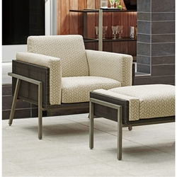Tommy Bahama Del Mar Lounge Chair and Ottoman Set - TB-DELMAR-SET14