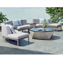 Tommy Bahama Del Mar Outdoor Curved Sectional Set - TB-DELMAR-SET2