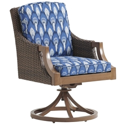Tommy Bahama Harbor Isle Swivel Rocker Dining Chair - 3935-13SR