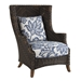 wicker outdoor arm chair