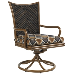 Tommy Bahama Island Estate Swivel Rocker Dining Chair - 3170-13SR