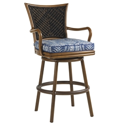 Tommy Bahama Island Estate Swivel Bar Stool - 3170-16SW