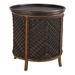 round outdoor end table