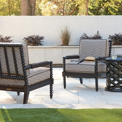 Tommy Bahama Kingston Sedona Outdoor Accent Chairs and Side Table Set - TB-KINGSTON-SET13