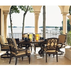 Tommy Bahama Kingston Sedona Cast Aluminum Dining Set for 6 - TB-KINGSTON-SET2