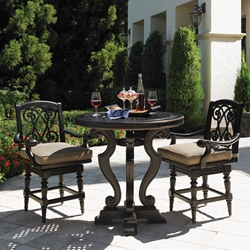 Tommy Bahama Kingston Sedona Outdoor Bistro Counter Height Set - TB-KINGSTON-SET8
