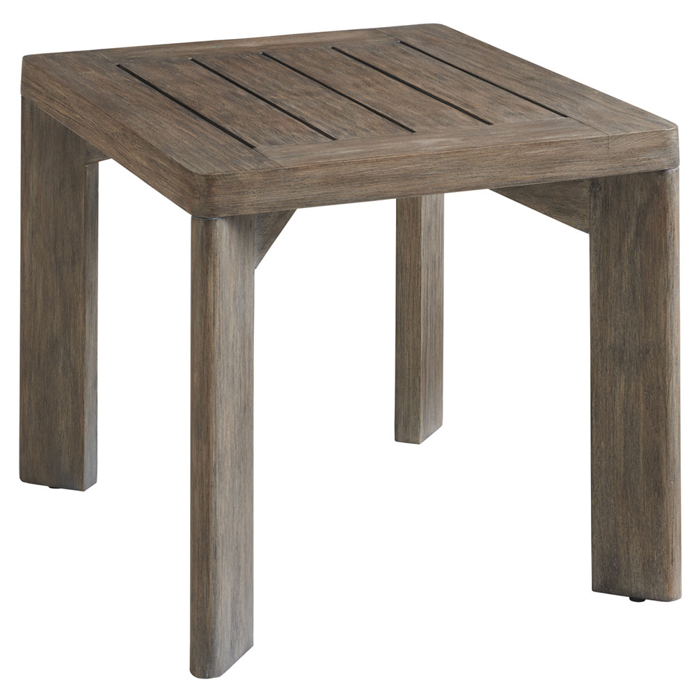 Tommy Bahama La Jolla Cast Top Rectangular End Table - 3950-955