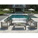 La jolla teak lounge chair with foam cushions