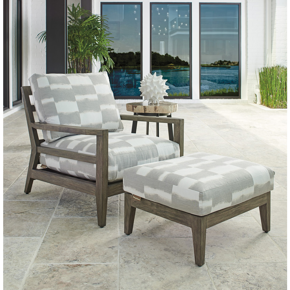 Tommy Bahama La Jolla Lounge Chair and Ottoman Set - TB-LAJOLLA-SET4