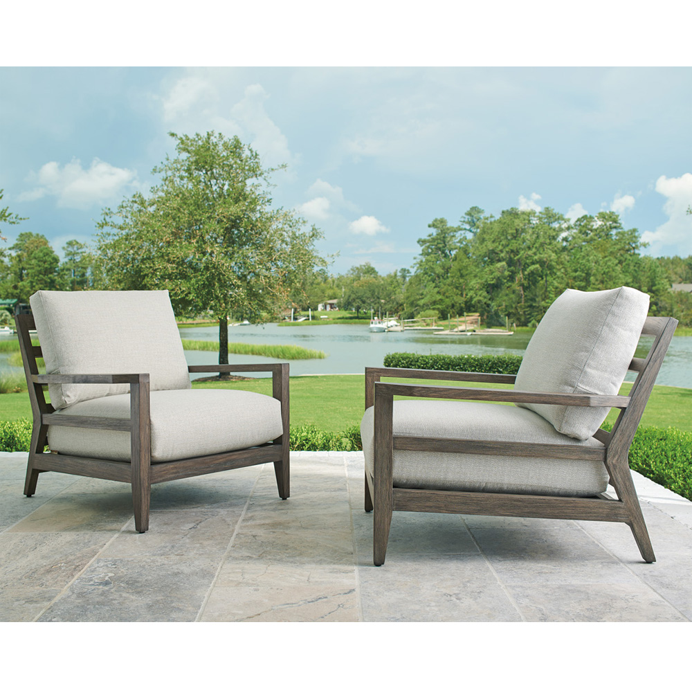 Tommy Bahama La Jolla Set of 2 Outdoor Lounge Chairs - TB-LAJOLLA-SET7
