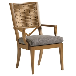Tommy Bahama Los Altos Valley View Arm Dining Chair - 3930-13
