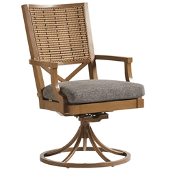 Tommy Bahama Los Altos Valley View Swivel Rocker Dining Chair - 3930-13SR