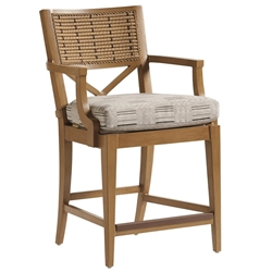 Tommy Bahama Los Altos Valley View Counter Stool - 3930-17