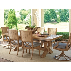 Tommy Bahama Los Altos Valley View Outdoor Dining Set for 6 - TB-LOSALTOS-SET1