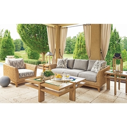 Tommy Bahama Los Altos Valley View Cushion Outdoor Furniture Set - TB-LOSALTOS-SET2