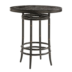 "Tommy Bahama Marimba 38"" Round Bistro Bar Table - 3237-873B"