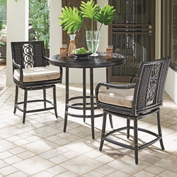 Tommy Bahama Marimba Counter Height 3 Piece Patio Set - TB-MARIMBA-SET4
