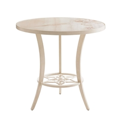 "Tommy Bahama Misty Garden 38"" Round Counter Table with Porcelain Top - 3239-873C"
