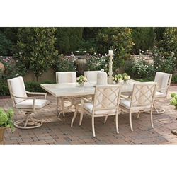 Tommy Bahama Misty Garden Outdoor Dining Set for 6 - TB-MISTYGARDEN-SET12