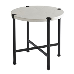 "Tommy Bahama Pavlova 18.5"" Round End Table - 3910-954"