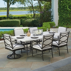 Tommy Bahama Pavlova Outdoor Dining Set for 6 - TB-PAVLOVA-SET4