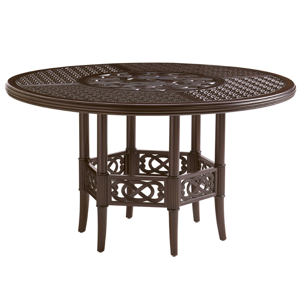 "Tommy Bahama Black Sands 54"" Round Dining Table - 3235-875"